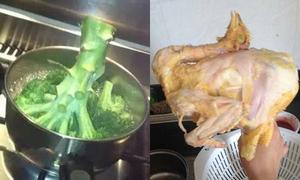 Những kiểu nấu nướng chắc chắn không phải của người trái đất