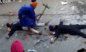 Võ sư nện búa vào đầu tình nguyện viên vì ngỡ là trái cây