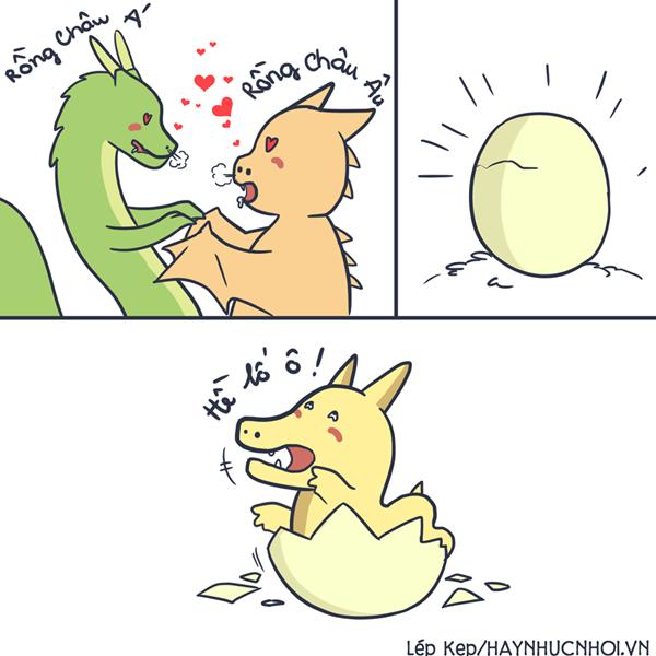 Thuyết tiến hóa của loài rồng.