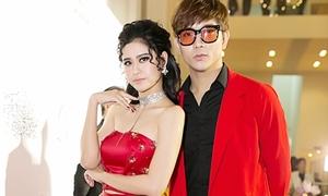 Tim - Trương Quỳnh Anh diện đồ 'ton sur ton' nổi bần bật tại sự kiện