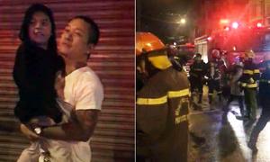 Tuấn Hưng lao mình chữa cháy, giải cứu người dân ở Đà Nẵng