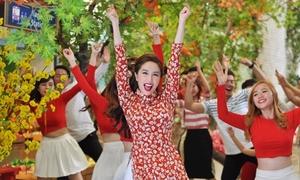 Bảo Thy tung MV Tết 'quậy tưng' sau ồn ào đạo nhái ý tưởng