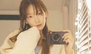 Tae Yeon tung ảnh mặt mộc, bảo anti 'hãy tự nhìn vào gương'