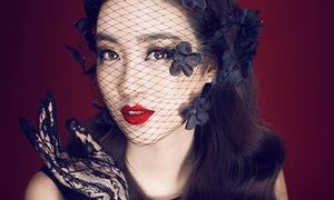 Hoa hậu Mỹ Linh đẹp kiêu sa như tiểu thư quý tộc