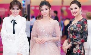 Dàn mỹ nhân Việt khoe sắc trên thảm đỏ hội xuân