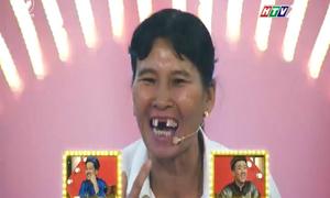 Chị nhà nông dùng chiêu 'rơi răng' ép Trấn Thành, Trường Giang phải cười