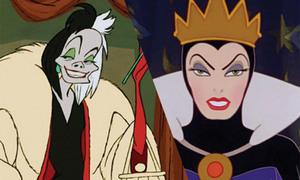 Sẽ thế nào khi các nhân vật gian ác trong Disney không trang điểm