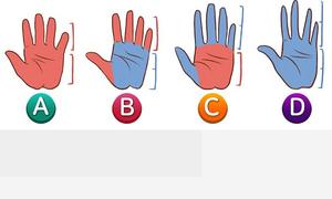 Đọc vị tính cách cơ bản qua bàn tay