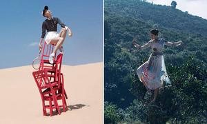 Những kiểu tạo dáng của mẫu Việt nhìn khó chẳng khác gì 'kỹ xảo'