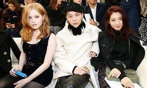 G-Dragon sang chảnh, Park Shin Hye e thẹn đi dự show của Chanel
