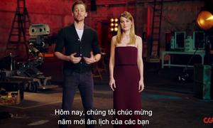 Tom Hiddleston chúc mừng năm mới rành rọt bằng tiếng Việt