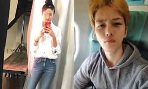 Sao Hàn 2/2: Seol Hyun khoe dáng đẹp, Jae Joong mặt méo xệch khi hết Tết