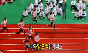 Tốc độ chạy của nữ idol khiến toàn bộ đồng nghiệp há hốc