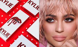 BST mỹ phẩm Valentine của Kylie Jenner vừa lên kệ đã cháy hàng