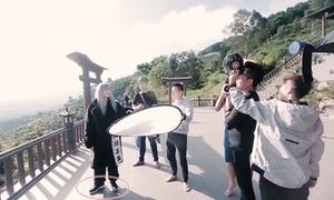 Sơn Tùng M-TP cũng bị soi vì đi giày ở chùa để quay 'Lạc trôi'