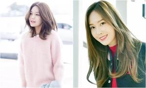 Jessica 'hồi teen' với style nữ sinh, Soo Young chất lừ ở sân bay