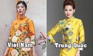 Mạng Trung Quốc tràn ngập váy giống hệt 'áo dài cách tân' Việt Nam