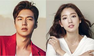 Lee Min Ho và Park Shin Hye là diễn viên Hàn được yêu thích nhất tại Mỹ