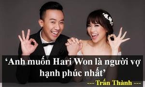 BST lời yêu kiểu ngôn tình Trấn Thành - Hari Won