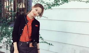 Ảnh street style khi đi du lịch đẹp như phim của Soo Young (SNSD)