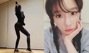 Sao Hàn 8/2: Tae Yeon tết tóc trẻ như thiếu nữ, Ji Min (AOA) sexy hút mắt