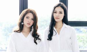Nhan sắc 'một 9 một 10' của chị em gái các Hoa hậu Việt