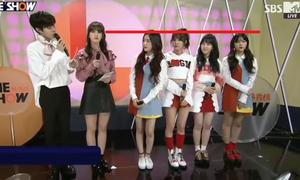 Somi (I.O.I) 'dìm' chiều cao của Red Velvet
