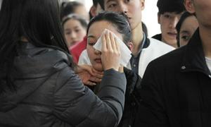 Thí sinh trường nghệ thuật Trung Quốc bị giám khảo tẩy trang tại chỗ