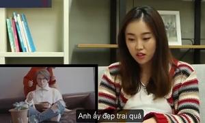Phản ứng của gái Hàn khi xem 'Nơi này có anh' của Sơn Tùng M-TP