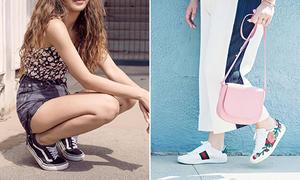 4 kiểu giày đang hot nhìn qua đã biết 'dân chơi'