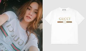 Hà Hồ chi gần 15 triệu đồng để sắm áo phông trắng