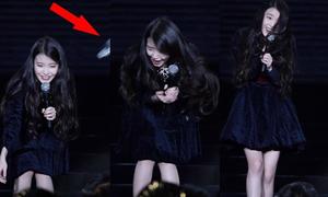 Phản ứng của idol Kpop khi bị ném chai lọ, bảng led vào người