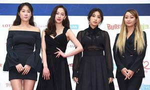 Sistar mặt khác lạ, EXO bảnh bao xuất hiện trên thảm đỏ Gaon