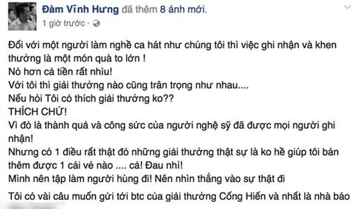 dam-vinh-hung-buc-xuc-ve-tieu-chi-xet-giai-thuong