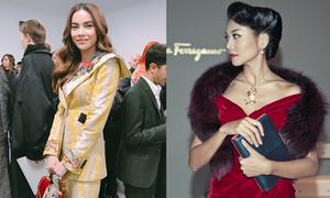 Sao Việt mặc gì khi dự show danh tiếng ở nước ngoài