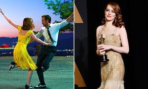 Điều thú vị sau 3 bộ váy giúp Emma Stone chạm đến Oscar