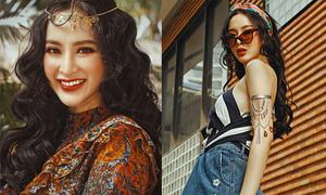 Angela Phương Trinh đẹp lạ với style 'đồng quê nước Mỹ'