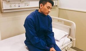 Isaac nhập viện vì lịch làm việc dày đặc ở Hàn Quốc