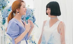 Quỳnh Anh Shyn diện váy tự thiết kế, ríu rít hội ngộ Chi Pu