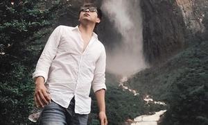 Hồ Quang Hiếu nơm nớp sợ cướp khi chinh phục thác nước cao nhất thế giới