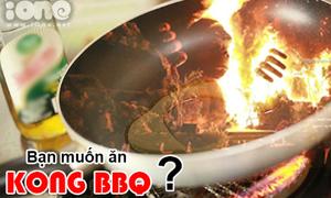 Ảnh chế: Hôm nay ăn gì - 'Kong BBQ'