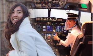 Nhan sắc nữ phi công được khen 'xinh đẹp nhất Thái Lan'