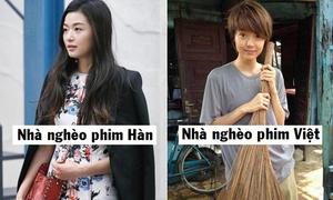 Phong cách khác biệt của sao Việt và sao Hàn trong từng hoàn cảnh