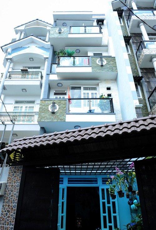 Căn nhà của Hồ Quang Hiếu.