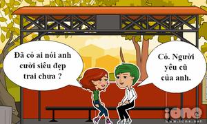 Truyện tranh hài hước: Khi bạn trai có EQ thấp