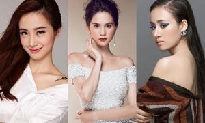 3 người đẹp được báo Trung gọi là 'Angelababy Việt'