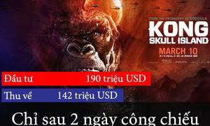 Những con số 'không tưởng' về 'Kong: Đảo đầu lâu'