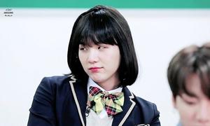 Suga (BTS) xinh đẹp khi giả gái