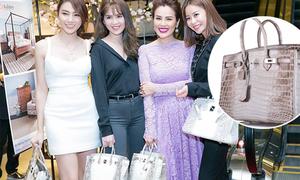 Túi Hermes 'bạch tạng' siêu hiếm trên thế giới nhưng nhan nhản ở Việt Nam