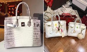 'Hermes bạch tạng' hàng fake được bán mua nhộn nhịp online